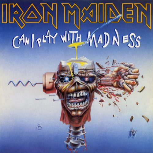 """Iron Maiden – """"Can I Play With Madness"""" 12″ Vinyl"""