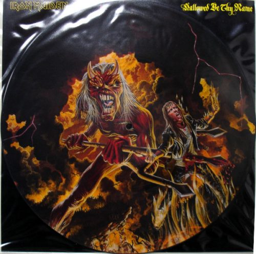 """Iron Maiden – """"Hallowed By Thy Name (Live)"""" 12″ Picture Disc"""