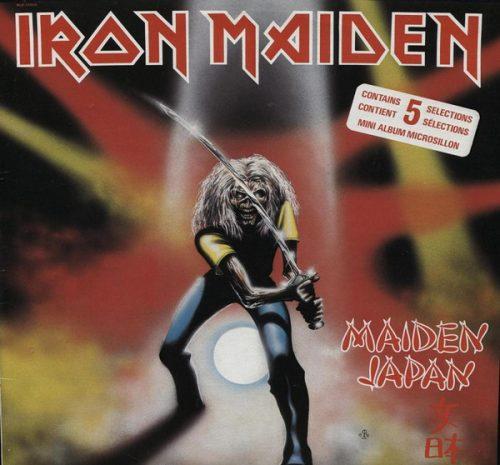 """Iron Maiden – """"Maiden Japan"""" 12″ Vinyl"""