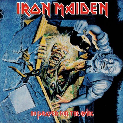"Iron Maiden – ""No Prayer For The Dying"" OG Sealed Red Vinyl"