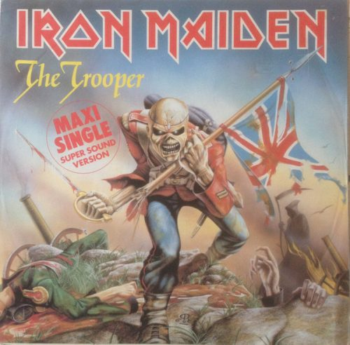"""Iron Maiden – """"The Trooper / Cross Eyed Mary"""" 12″ Vinyl"""