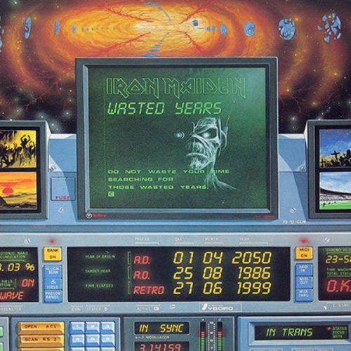 """Iron Maiden – """"Wasted Years / Reach Out / Sheriff of…"""" 12″ Vinyl"""