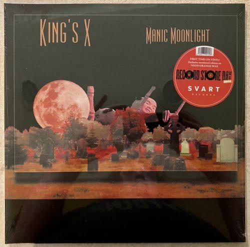 "King's X – ""Manic Moonlight"" RSD Orange Neon Vinyl"