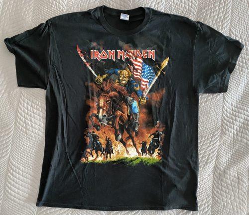"Iron Maiden – ""Maiden England – North American Tour"" XL T-Shirt"