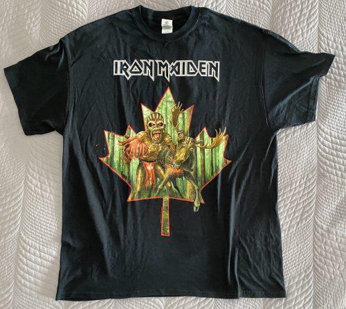 """Iron Maiden – """"Canada 2016 Event Shirt – Book of Souls"""" XL T-Shirt"""
