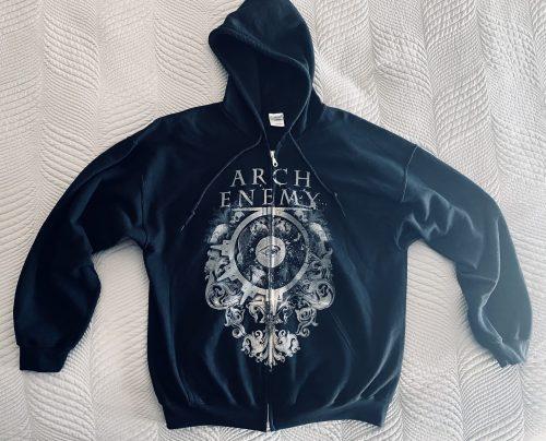 """Arch Enemy – """"Zipper Hoodie"""" XL Hoodie"""