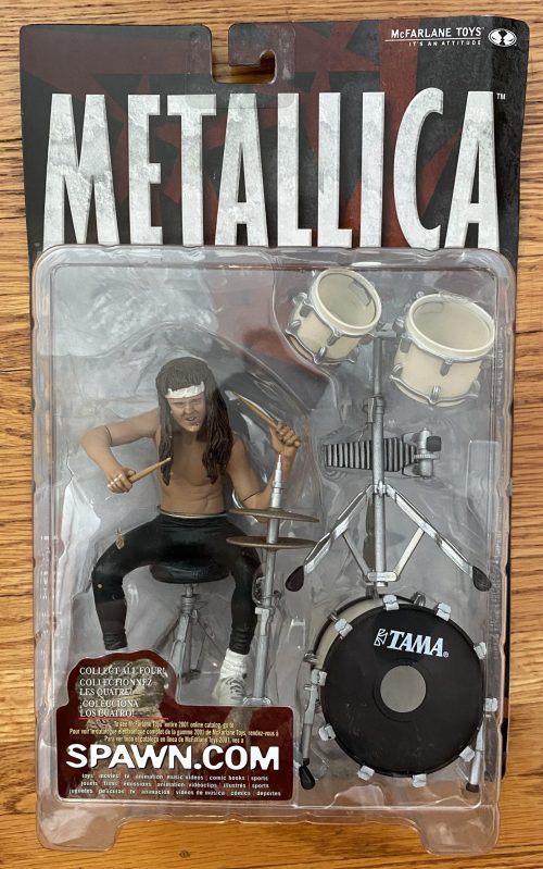 "Metallica – ""Lars Ulrich"" McFarlane Action Figure"
