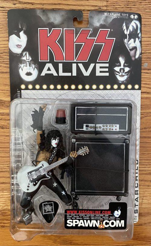 "Kiss – ""Set of 4 – Paul / Gene / Ace / Peter"" McFarlane Alive Figures"